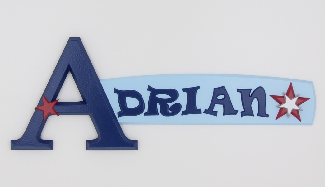 Photo Gallery Of Painted Wooden Name Signs Made By Looselettersca